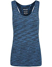Mountain Warehouse Samaya II IsoCool Dynamic Women's Singlet - Lightweight, Quick Dry, Breathable, Antibacterial, Wicking IsoCool Fabric with a Modern Space-Dye Design
