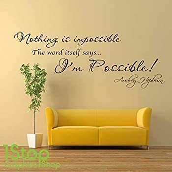 WINSTON CHURCHILL WALL STICKER QUOTE BEDROOM LOUNGE HOME WALL ART DECAL X255