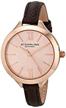 Stuhrling Original Damen-Armbanduhr Vogue 975 Analog Quarz 975.04