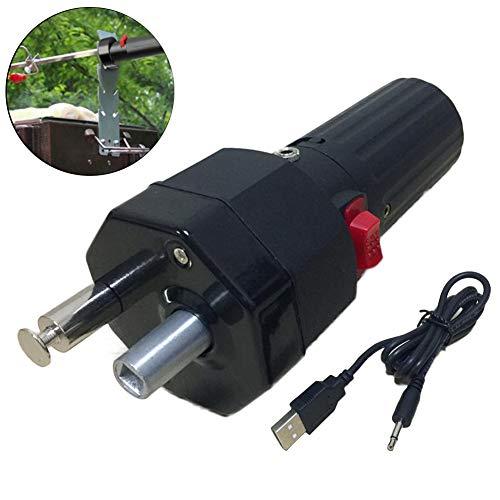 Motor Micro Ofen Motorhalterung Rotator Mit USB Kabel Schwarz ()