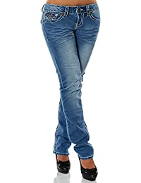 Damen Jeans Straight Leg