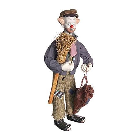 Clown En Porcelaine - Discount ethnique–Clown porcelaine mesure