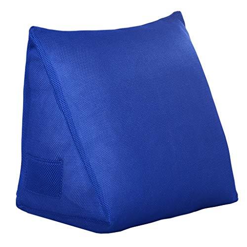World Kissen zurück Keil Kissen - Bett Kissen Dreieck Kissen Sofa große zurück Weichen Fall Tatami Rückenlehne Kissen Taille Kissen waschbar (Farbe : A, größe : 40 * 30cm)