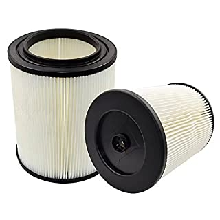 Anboo VAC Filter Fit Craftsman 178169-17816Ersatz Wet Dry Vakuum Air Kartusche Filter für Shop Staubsauger 1Pack 2er-Set