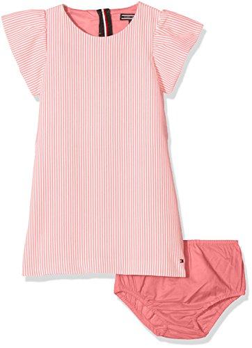 Tommy Hilfiger Mädchen Kleid C Fine Stripe Dress S/S