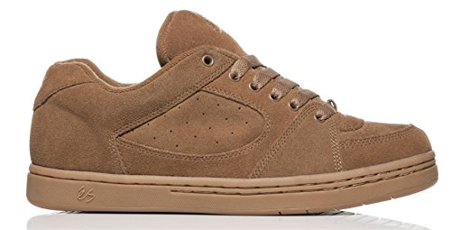 Es shoes - Accel og black - Chaussures skateboard BROWN/GUM