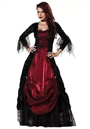 Averyshowya Kostüm für Erwachsene Halloween Kostüm Für Halloween Aristokraten kleines Kleid Rock weibliches Kostüm (Aristokrat Kostüm Für Erwachsene)