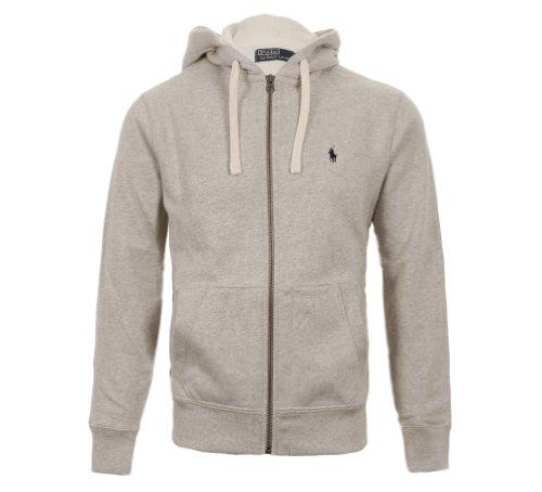 ralph-lauren-polo-mens-fleece-hoodie-jumper-dark-grey-grey-navy-size-smlxlxxl