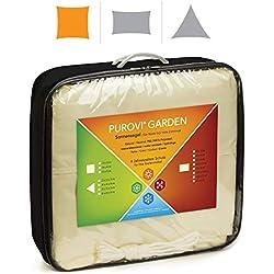 Purovi Toldo Cuadrado   Varias Dimensiones   Protección UV   PES Impermeable   3 x 3 m