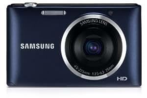 Samsung ST72 Digitalkamera (16,2 Megapixel, 5-fach opt. Zoom, 7,5 cm (3 Zoll) Display, bildstabilisiert, micro-SD Slot) kobalt schwarz