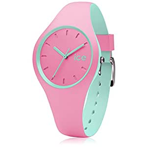 ice watch ice duo pink mint rosa damenuhr mit. Black Bedroom Furniture Sets. Home Design Ideas