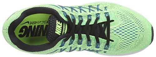 Nike Air Zoom Pegasus 32 Herren Laufschuhe Mehrfarbig (Ghost Green/Black-Copa-Blue Lagoon)