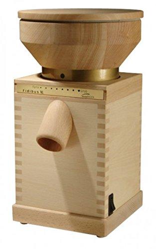 Komo Getreidemühle Fidibus XL, 200 g/min Mehl, Keramik Mahlsteine, 600 Watt