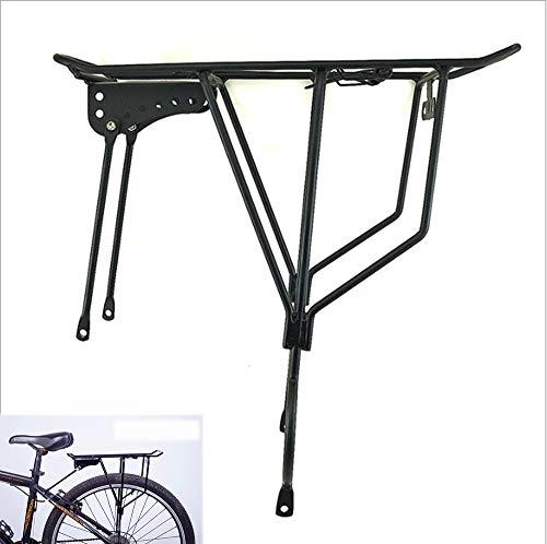 FEZBD Fahrrad-Gepäckträger, Schnellspanner Klapprad-Rückwand-Mountainbike-Rennrad-Fahrradhalterung