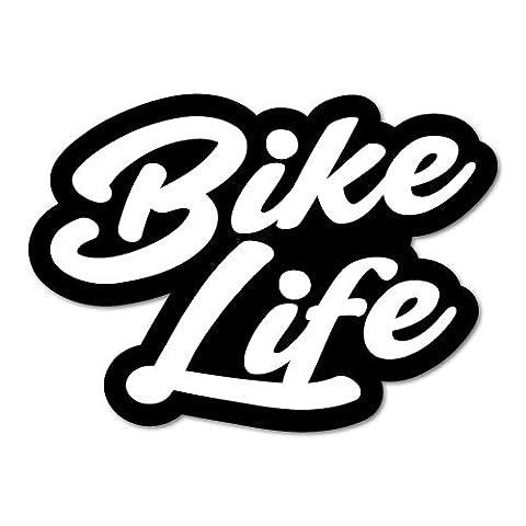 Bike Life 2 Sticker Decal Bicycle Helmet Car Vinyl