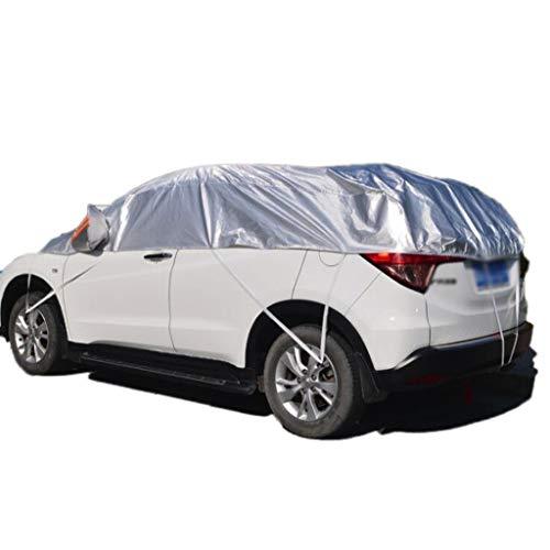 Tipo: ropa de cocheMaterial: algodón con agujas PEVA (doble capa más algodón)color: grisCaracterísticas: protección solar / impermeable / viento / nieve / anticongelante / rayado◀ El papel de la ropa del automóvil: 1, puede proteger eficazmente el po...
