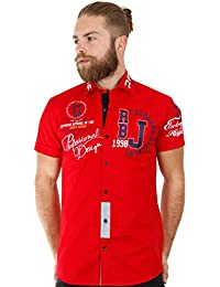 Redbridge Herren Regular Fit Freizeithemd R-2123