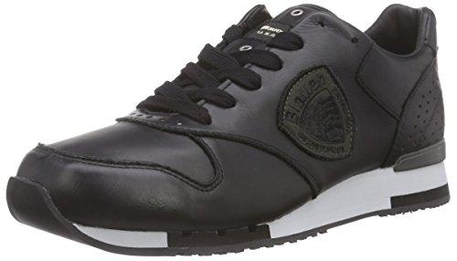 Blauer USARUNORI/LEA - Sneaker uomo , Nero (Nero (nero)), 42