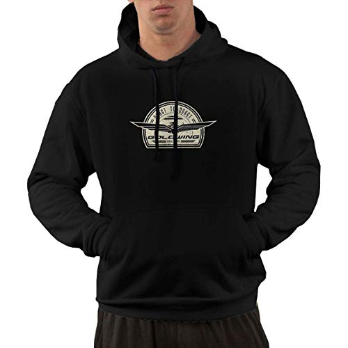 Saft Retro Maske - Goldwing-Retro Casual Loose Men's Hoodie Pullover
