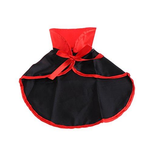 Kofun Pet Cloak Haustiere Umhang Vampir Kostüm Cape Cosplay Hund Katze Welpen Kleidung Mantel für Halloween