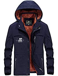 Winterjacke Männer Fleece Mantel Outwear Army Military Plus Größe M-XXXXL  mit Kapuze beiläufige Winterjacke e193b36764