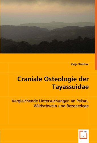 Craniale Osteologie der Tayassuidae: Vergleichende Untersuchungen an Pekari, Wildschwein und Bezoarziege