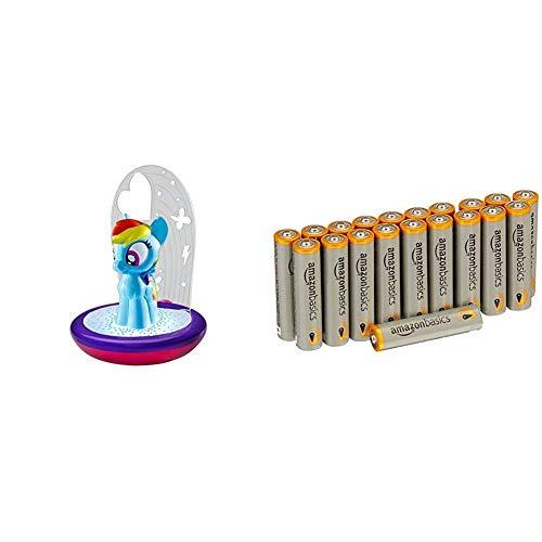 Mon Petit Poney - Veilleuse magique GoGlow - lampe de poche et projecteur avec piles AmazonBasics