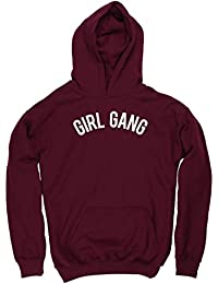 HippoWarehouse Girl Gang kids childrens unisex Hoodie hooded top
