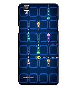 Citydreamz Video Games/Cartoon/Funny Hard Polycarbonate Designer Back Case Cover For Oppo F1