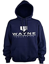 Batman Oficialmente Licenciado Wayne Industries Logo Sudaderas con Capucha