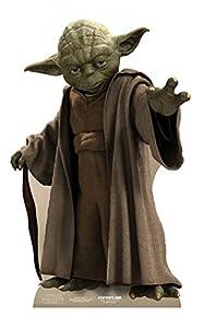 STAR CUTOUTS - Reproducción a Escala Yoda Star Wars (SC473)