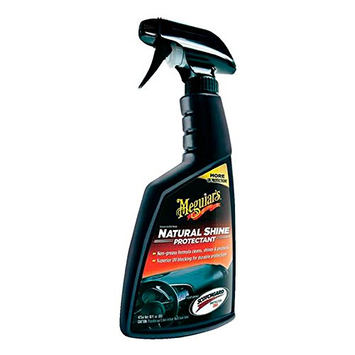 Meguiar's 65459 Natural Shine Rinnova Plastica e Cruscotti, Set di 1, 473 ml