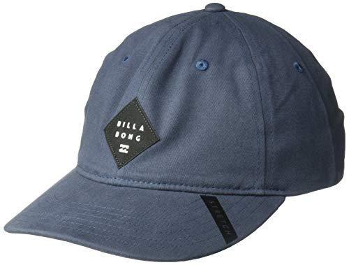 BILLABONG Herren Classic Stretch Hat Baseball Cap, Mission Blue, Small/Medium Billabong Black Hat
