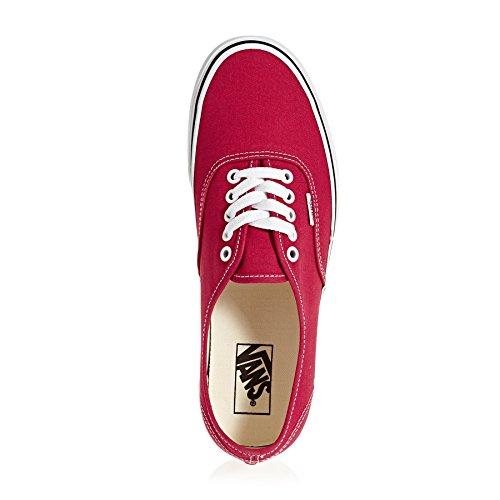 ... Vans Authentic, Scarpe Running Unisex-Adulto Rosso (Crimson/true White  Q9u) ...