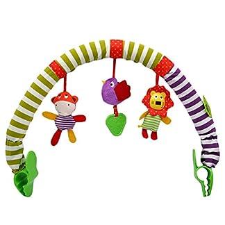 Egosy – Juguete para Cochecito de bebé, Cuna para niños, Cuna, Colgante, Animales, sonajero, Juguete para niños pequeños