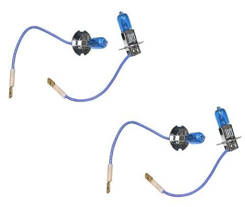 Aerzetix c2047x Xenon Effect H324V white Light Bulbs 100W, Set of 4