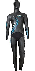 SALVIMAR Be-One Combinaison de plongée Noir Taille XS