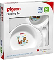 Pigeon Feeding Set [03327], White