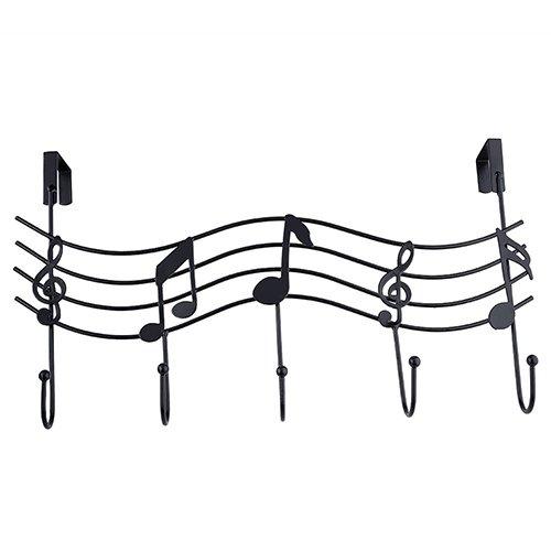 Steellwingsf Hanger Hook, Vintage Metal Music Note Kleiderhaken Hat Bag Hanger Organizer Holder Wall Decor