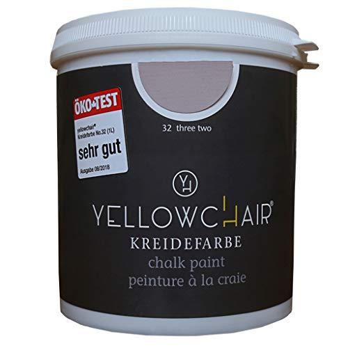 Kreidefarbe yellowchair No.32 hortensie ÖKO für Wände und Möbel 1 Liter