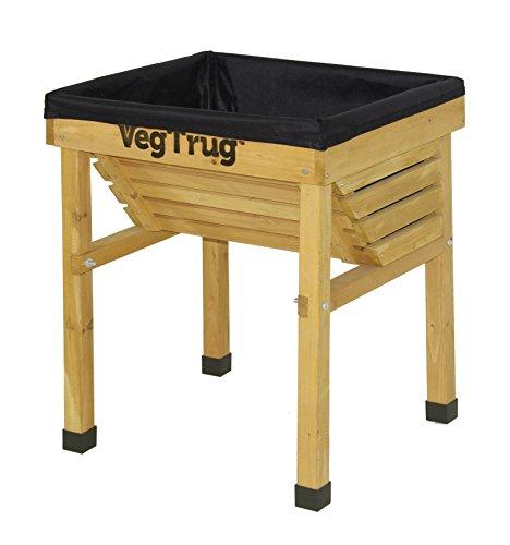 vegtrug-0713540-protector-para-plantas-protectores-para-plantas-garden-plant-planta-en-maceta-madera