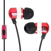 Gogroove Auriculares Intrauriculares / Cascos In Ear Fitness Deporte / Auriculares Cancelación de Ruido y Micrófono - Para Huawei P8 Lite Moto G BQ Aquaris Samsung Galaxy J5 J7 iPhone 6 7 DOOGEE y más
