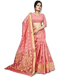 Indian Fashionista Women'S Silk Saree With Blouse Piece (Nrpt1114H_Multi)