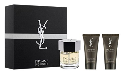 Yves Saint Laurent YSL L'Homme EDT Spray Gift Set, 60 ml, 2 Pieces