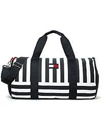 Tommy Hilfiger Duffle Bag Bolsa Bolsa de deporte bolsa de viaje de color azul oscuro de color blanco