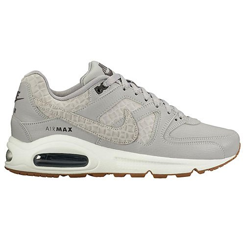 Nike Air Max Command Prm, chaussons d'intérieur femme Gris (Wolf Grey/wolf Grey/sail/midnight Navy)