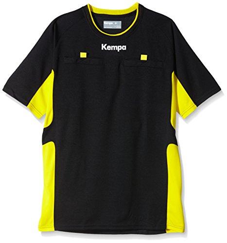 Kempa Erwachsene Trikot Schiedsrichter, Schwarz/Limonengelb, XL, 200304001 (Erwachsenen-trikots)