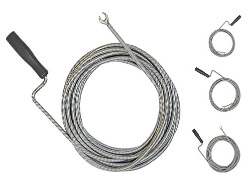 Rohrreinigungsspirale / 3mmx5m, 9mmx5m, 9mmx10m wählbar / Rohrreinigungswelle - Auswahl: 9mm x 10m