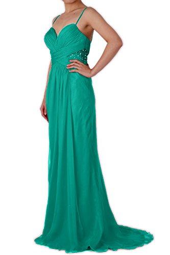 MACloth - Robe - Trapèze - Sans Manche - Femme Turquoise - Turquoise