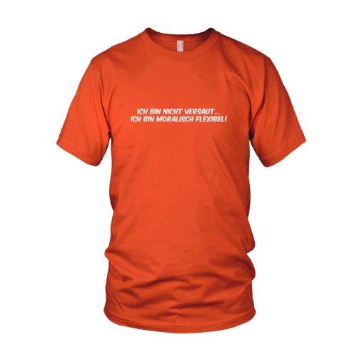 Moralisch Flexibel - Herren T-Shirt Orange